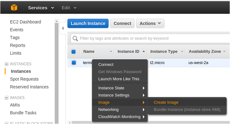 Moving EC2 Instances Across AWS Accounts