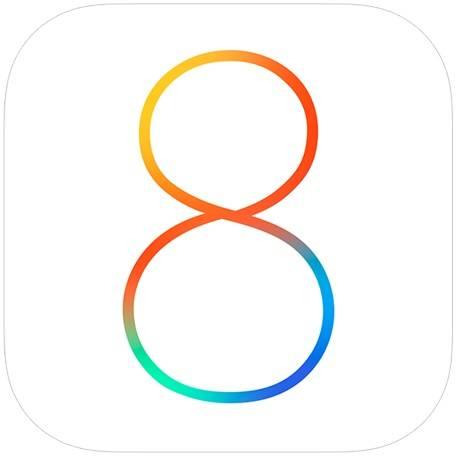 Logo of iOS 8