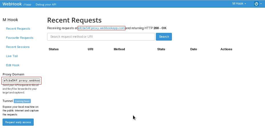 Webhook Request