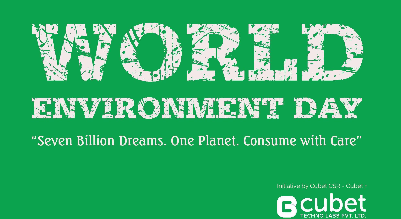 Cubet Celebrating World Environment Day 2015.