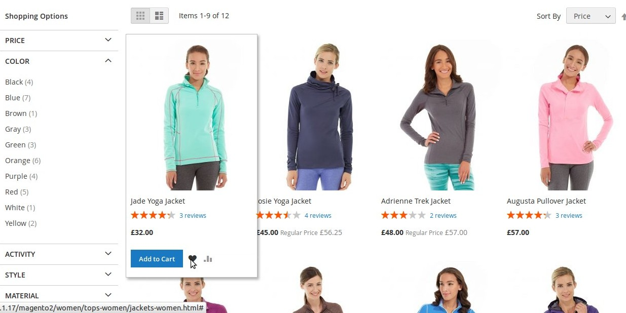 Magento2 Listing Page and View Page