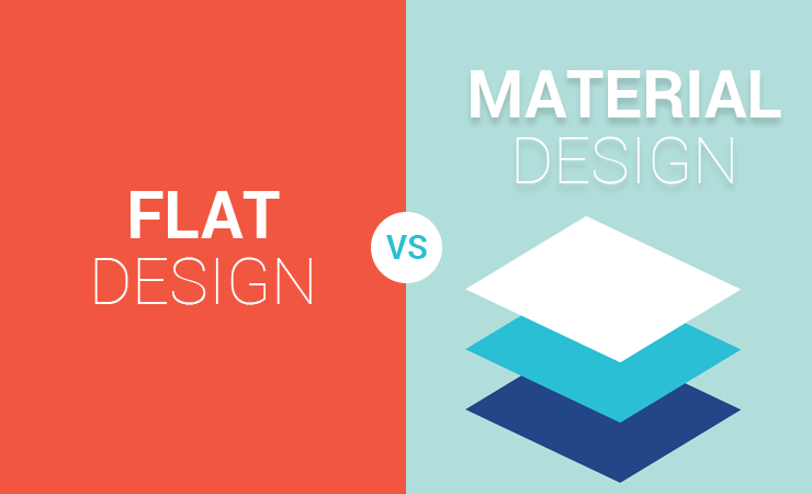 Flat Design Vs Material Design An Overview