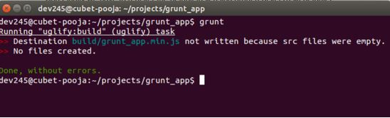 Grunt Coding Example