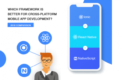 Ionic vs React Native vs NativeScript 2018 Comparison
