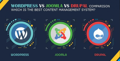 WordPress vs Joomla vs Drupal comparison which is the best Content Management System?