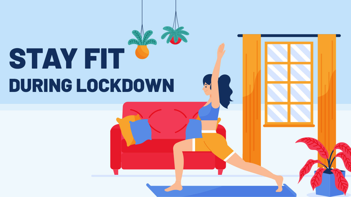 No gym- How to stay fit during Lockdown?